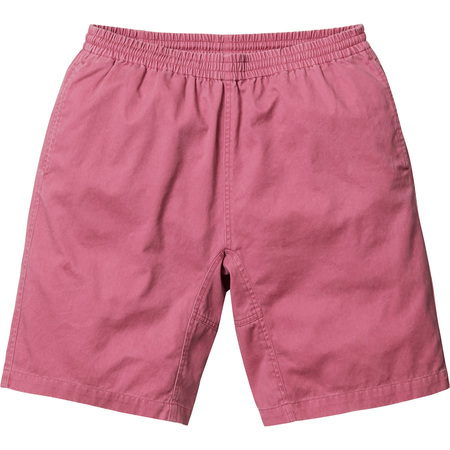 Washed Twill Short (Red)