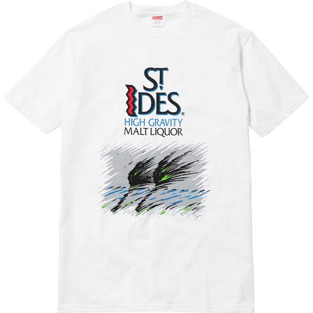 Supreme®/St. Ides® Tee (White)
