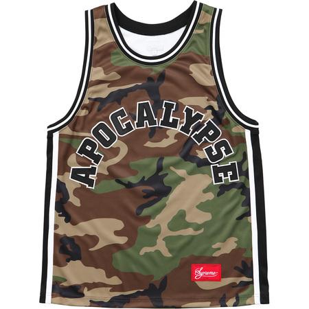 Apocalypse Basketball Jersey (Woodland Camo)