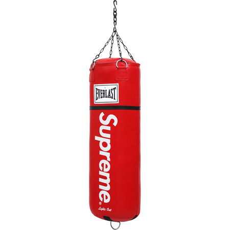 Supreme®/Everlast® Leather Heavy Bag (Red)