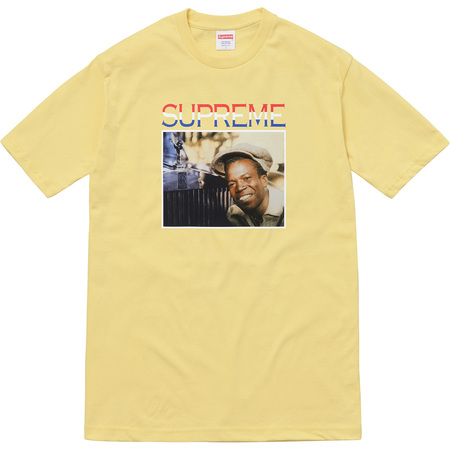 Supreme®/Barrington Levy & Jah Life Englishman Tee (Light Yellow)