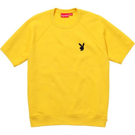 Supreme®/Playboy© S/S Crewneck (Yellow)