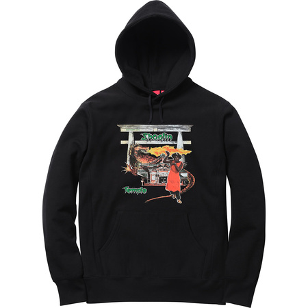 Supreme®/Barrington Levy & Jah Life Shaolin Temple Hooded Sweatshirt (Black)