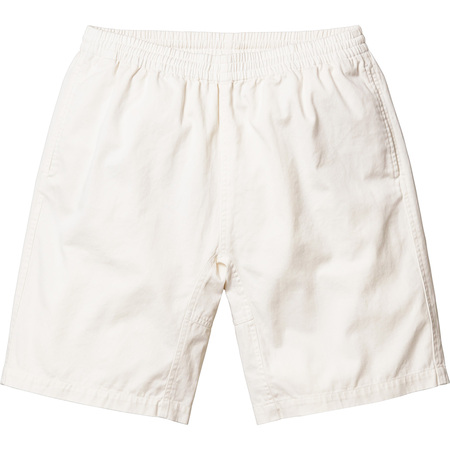 Washed Twill Short (Off White)