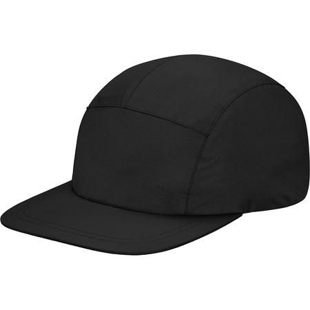 Taped Seam Camp Cap (Black)