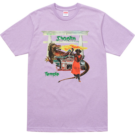 Supreme®/Barrington Levy & Jah Life Shaolin Temple Tee (Heather Light Purple)