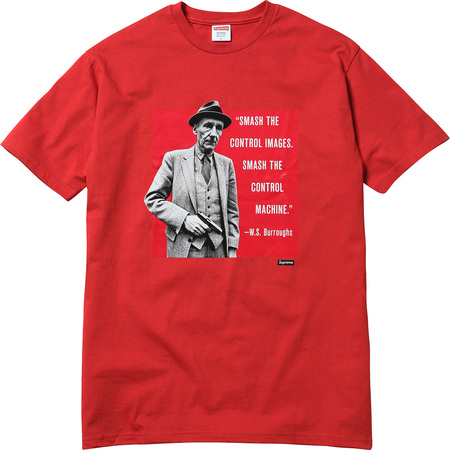 Burroughs Tee (Red)