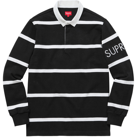 Striped Rugby (Black)