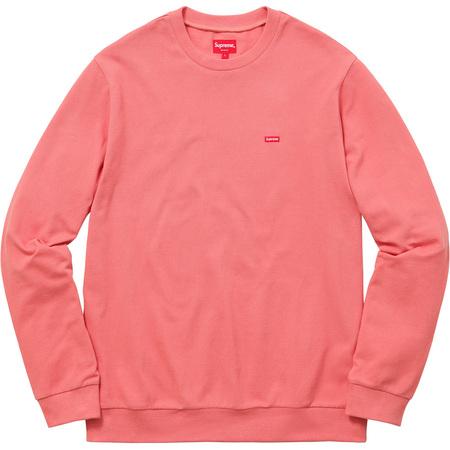 Small Box Pique Crewneck (Pink)