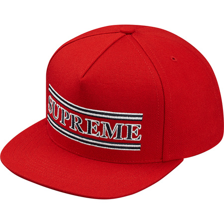 Stripes 5-Panel (Red)