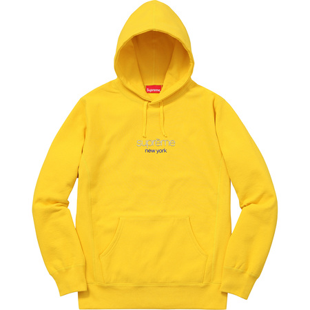 Chrome Classic Logo Hooded Sweatshirt (Yellow)