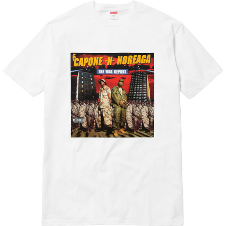 The War Report Tee (White)