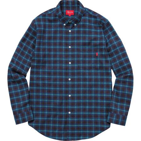 Mini Shadow Plaid Shirt (Blue)