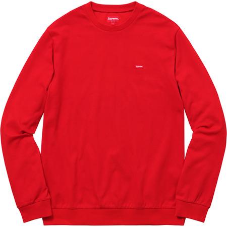 Small Box Pique Crewneck (Red)