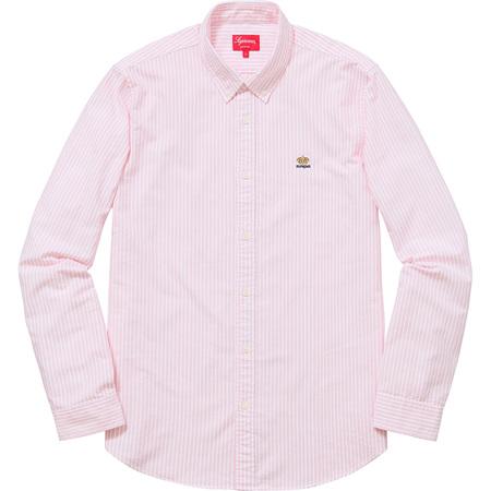 Oxford Shirt (Pink Stripe)