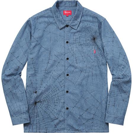 Spider Web Shirt (Blue Denim)