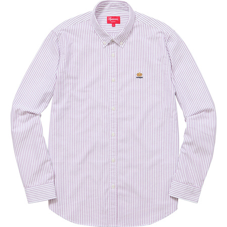 Oxford Shirt (Purple Stripe)