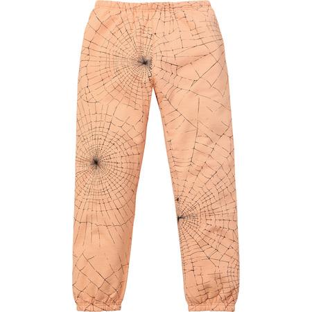 Spider Web Sweatpant (Peach)