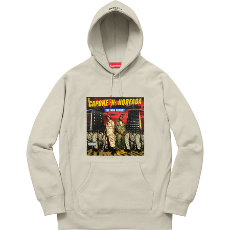 The War Report Hooded Sweatshirt (Tan)