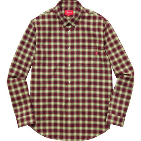 Mini Shadow Plaid Shirt (Green)