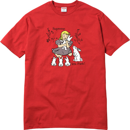 Let's Fuck Tee (Red)