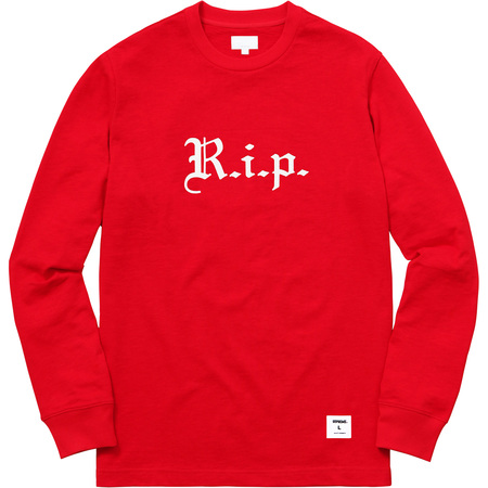 R.i.p. L/S Tee (Red)