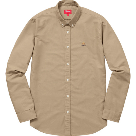 Oxford Shirt (Tan)