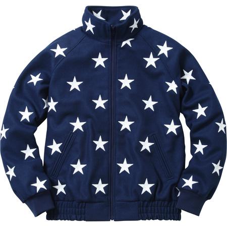 Stars Zip Stadium Jacket (Navy)