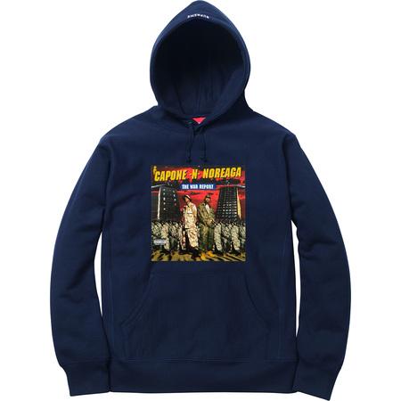 The War Report Hooded Sweatshirt (Navy)