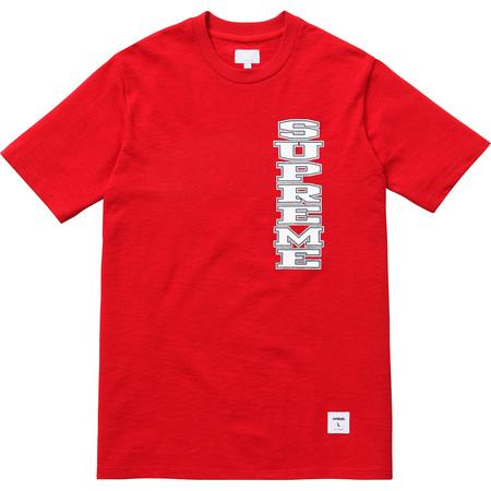 Vertical Logo Tee (Red)