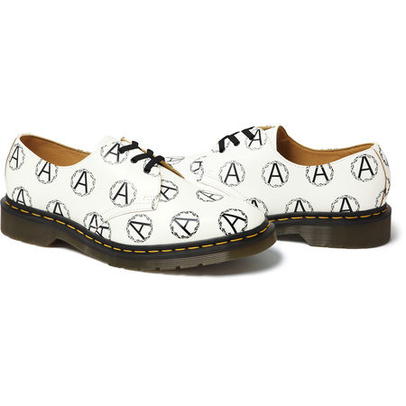 Supreme®/UNDERCOVER/Dr. Martens® Anarchy 3-Eye Shoe (White)