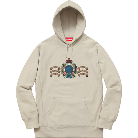 Crest Hooded Sweatshirt (Tan)