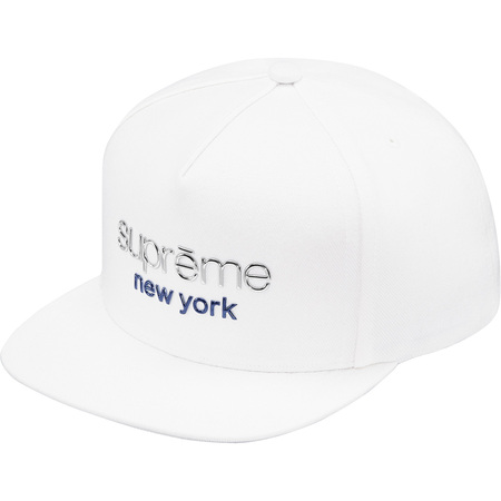 Chrome Classic Logo 5-Panel (White)