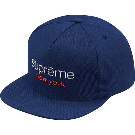 Chrome Classic Logo 5-Panel (Navy)
