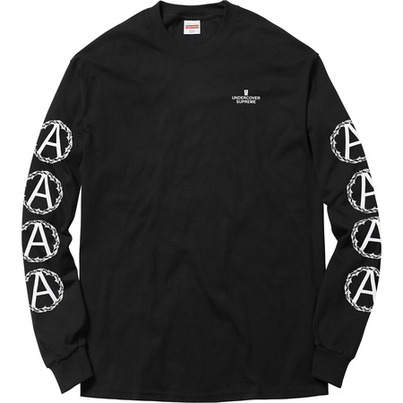 Supreme®/UNDERCOVER Anarchy L/S Tee (Black)