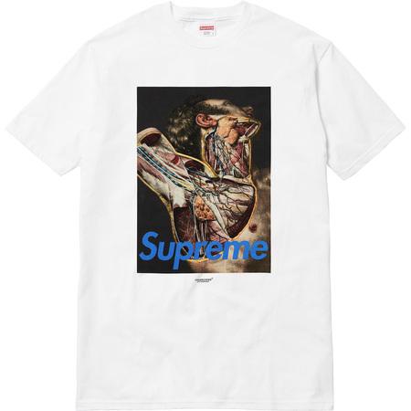 Supreme®/UNDERCOVER Anatomy Tee (White)