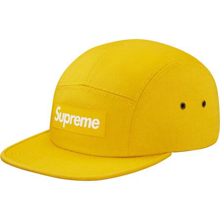 Washed Chino Twill Camp Cap (Yellow)