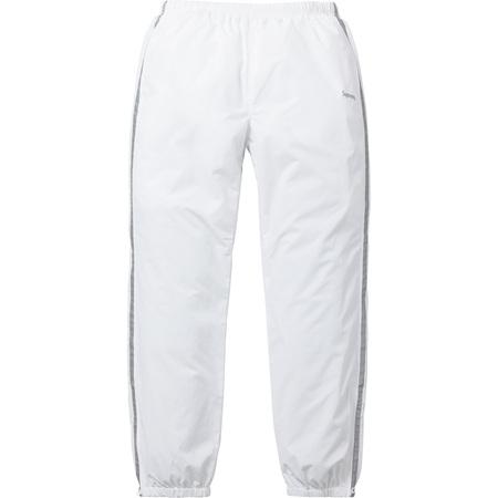 3M® Reflective Stripe Track Pant (White)