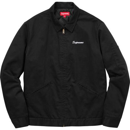 Supreme®/Playboy© Work Jacket (Black)