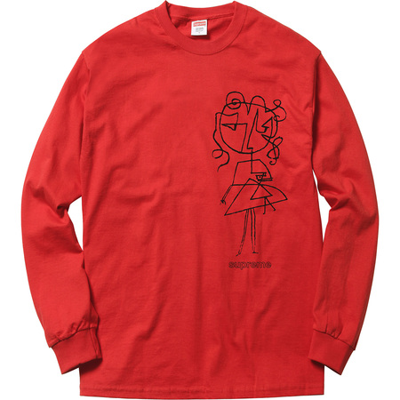 Sketch L/S Tee (Red)