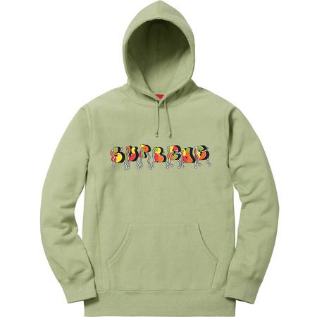 Blade Whole Car Hooded Sweatshirt (Sage)