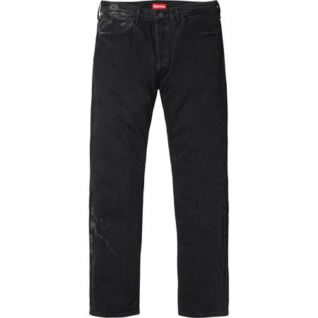 Supreme®/Levi's® Bleached 501 Jeans (Bleached Black)