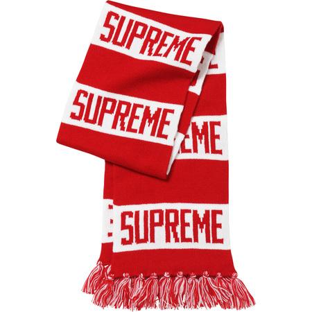 Bar Stripe Scarf (Red)