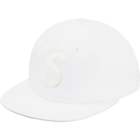 Chenille S Logo 6-Panel (White)