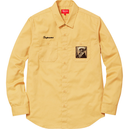 Zapata Work Shirt (Yellow)