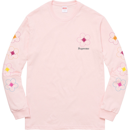 Been Hit L/S Tee (Pale Pink)