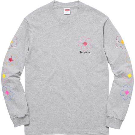 Been Hit L/S Tee (Heather Grey)