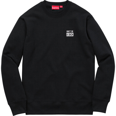 Don't Be A Dick Crewneck (Black)