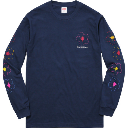 Been Hit L/S Tee (Navy)