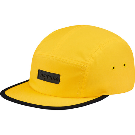 Rubber Logo Camp Cap (Gold)